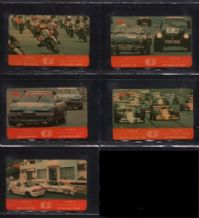 Phonecards set 5 Telephone cards Macau racing 1990 rare